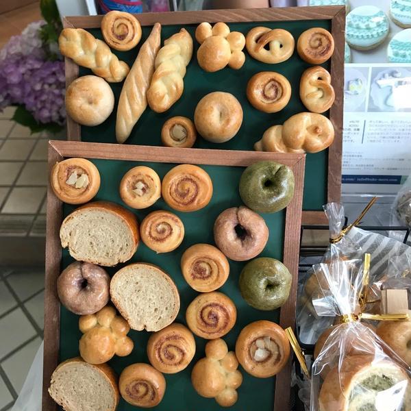クラフトマーケットにて販売したパン生地で作る小物雑貨