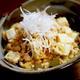 鶏ひき肉と豆腐のうま煮