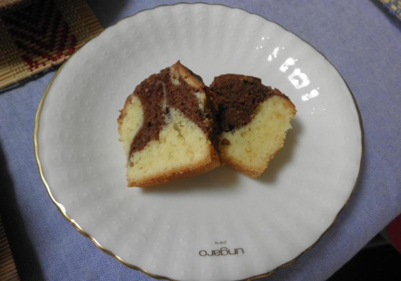 マーブル パウンド ケーキ
