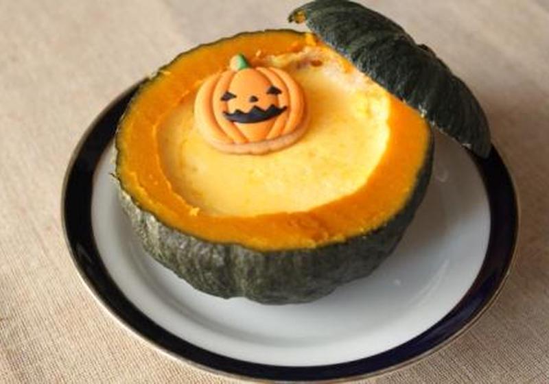 蒸す かぼちゃ プリン