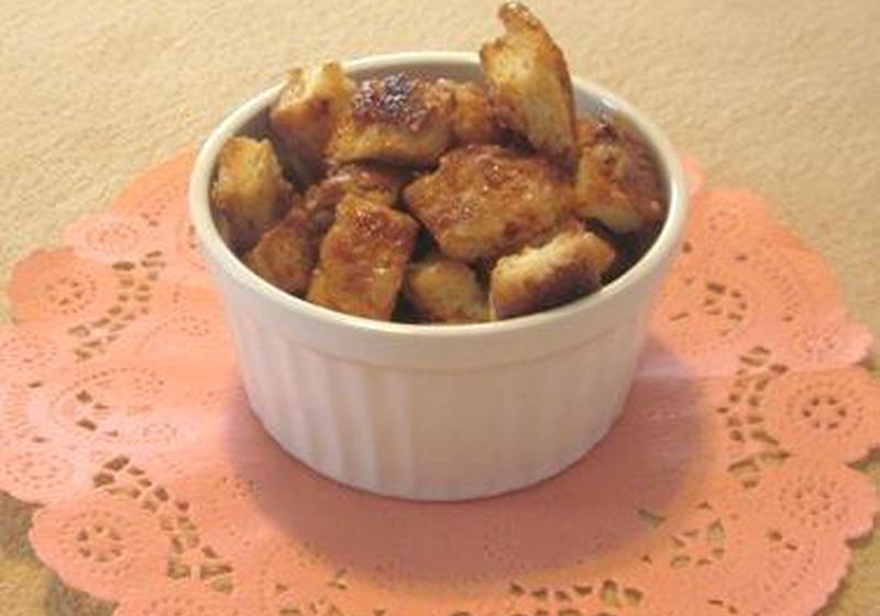 10分おやつ パン耳ラスクのレシピ 作り方 大窪 由利 料理教室検索サイト クスパ