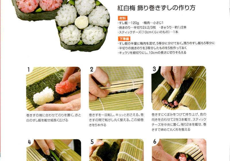 寿司 レシピ 巻き